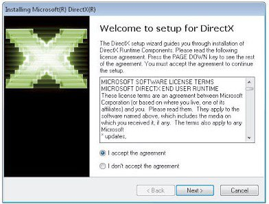 Screenshot de DirectX 11