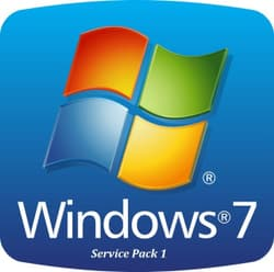 Screenshot de Windows 7 Service Pack 1