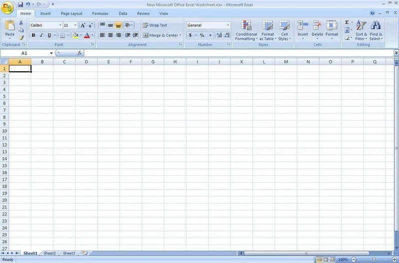 Screenshot de Microsoft Office 2017