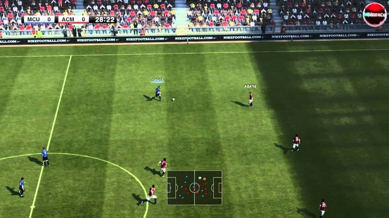 Screenshot de PES 2012