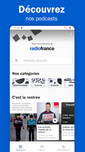 Aperçu Radio France - podcasts, direct radios - Img 2