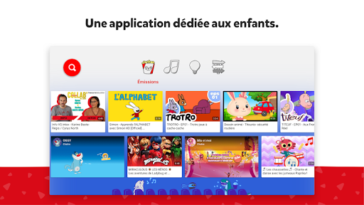 Aperçu YouTube Kids for Android TV - Img 1