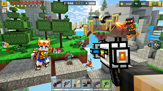 Aperçu Pixel Gun 3D: Survival shooter & Battle Royale - Img 1