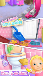Aperçu Sweet Baby Girl Doll House - Play, Care & Bed Time - Img 1