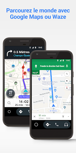 Aperçu Android Auto : Google Maps, multimédia et messages - Img 2