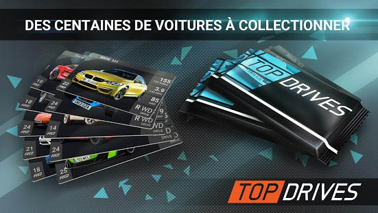 Aperçu Top Drives – Cartes de voitures du course - Img 2