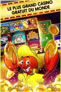 Aperçu DoubleDown - Casino Slot Game, Blackjack, Roulette - Img 1