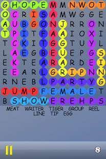 Aperçu Word Search - Play a free game of infinite puzzles - Img 1