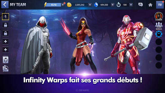 Aperçu MARVEL Future Fight - Img 1