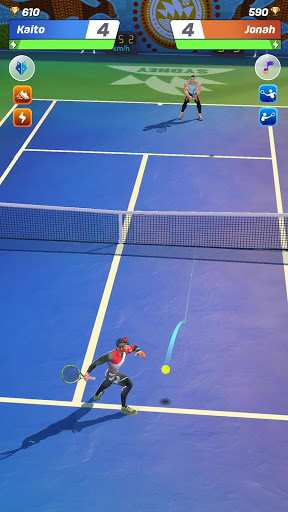 Aperçu Tennis Clash: 3D Free Multiplayer Sports Games - Img 1